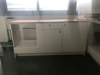 Mueble bajo cocina 180 cm