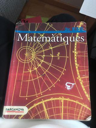 Matemáticas 3 Eso Barcanova
