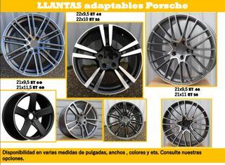 Llantas adaptables para Porsche