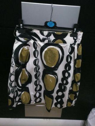 falda estampado T 36