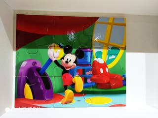 Puzzle Educa de Mickey y Minnie