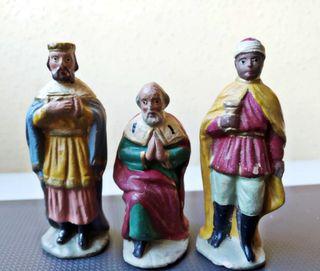 Los tres Reyes Magos para el Belén