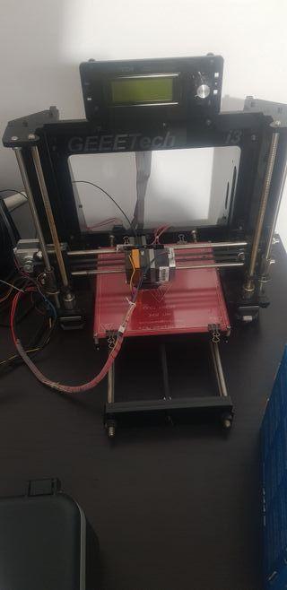impresora 3d prusa i3 con poco uso