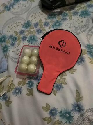 Funda raqueta de ping pong