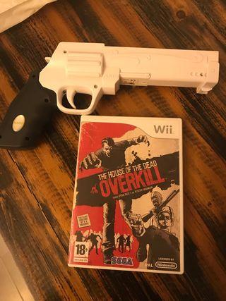 Overkill +pistola Juego WII