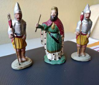 Herodes con su guardias