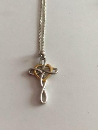 925 Silver Celtic Cross