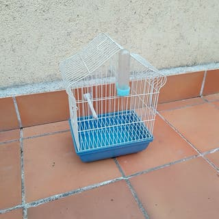 Jaula para pájaros o canario