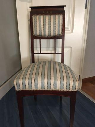 2 Sillones y 2 sillas