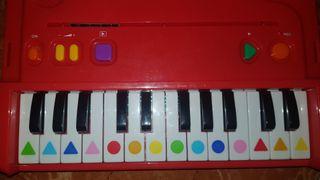 Yo aprendo a tocar el piano Juego DISET