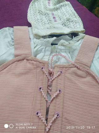 Justillo + camisa + goyesca Huertana/Baile