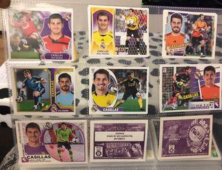 Colección cromos Iker Casillas 16 temporadas