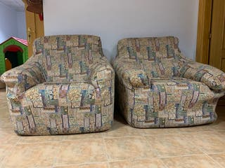 2 sillones individuales