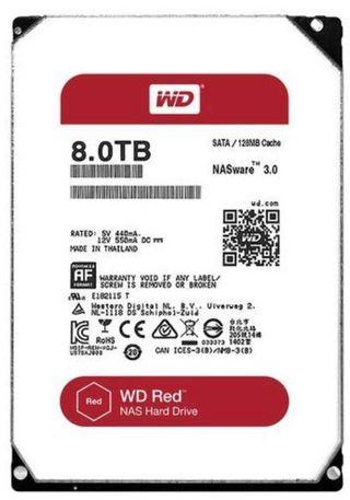 WD Red HDD - 8TB x 3 - 275 Euros por unidad nuevo