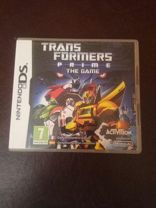 Transformers Prime Nintendo 2DS, DS