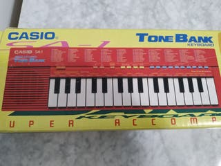 Teclado Casio SA - 1 Tone Bank Japan