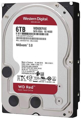 WD Red HDD - 6TB - 207 Euros nuevo