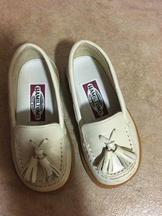 Zapato inglés niño