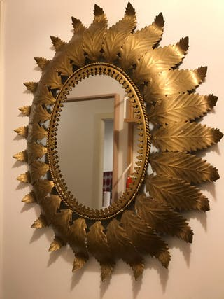 Espejo sol ovalado