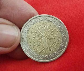 MONEDA DE 2 EUROS AÑO 2000