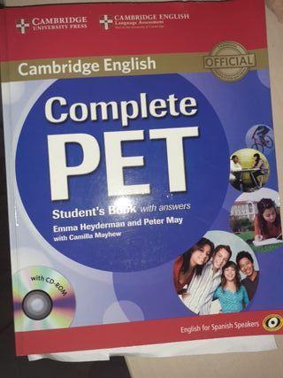 Libro Cambridge complete pet