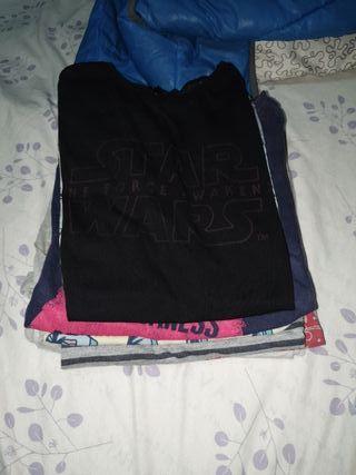 lote de 6 camisas niños