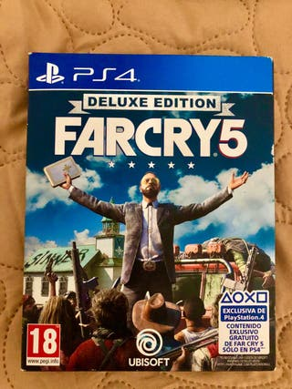 FARCRY 5 DELUXE - PS4