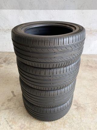 4 neumáticos Continental 245/45R17 95W