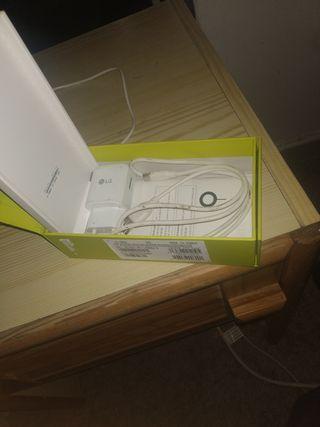 vendo LG G5 con 5 baterías, cargador original