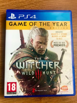 THE WITCHER 3 GOTY - PS4