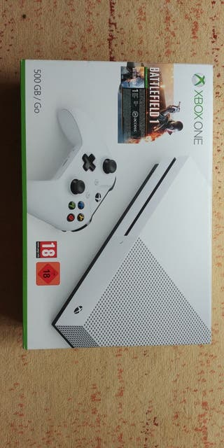 Xbox one s 500 GB + extras