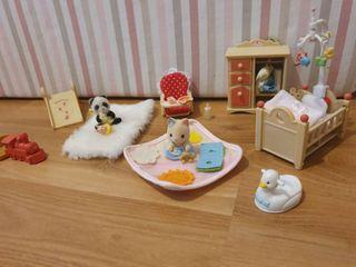 habitación bebé sylvanian