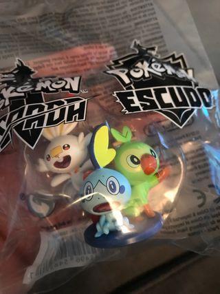 Figura oficial Pokemon Espada y Pokemon Escudo