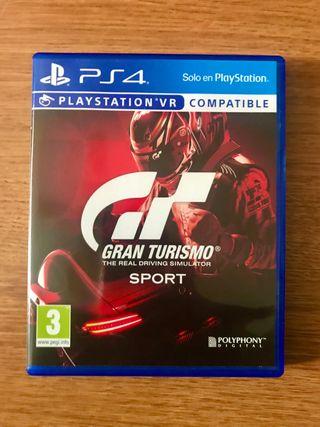 GRAN TURISMO - PS4