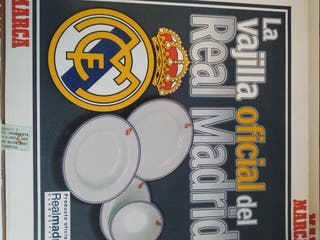 Vajilla Real Madrid Marca