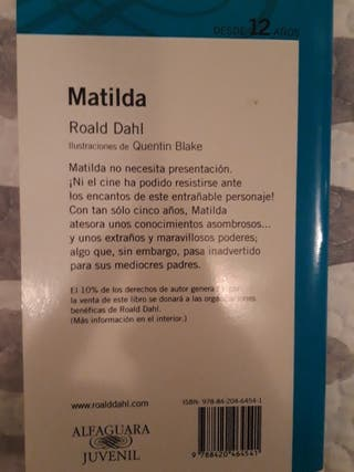 LIBRO MATILDA