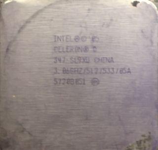 procesador intel celeron 3,06ghz socket 775