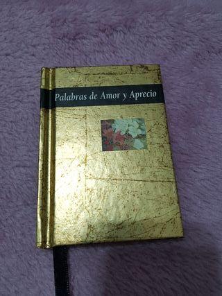 """Libro """" Palabras de Amor y Aprecio"""""""