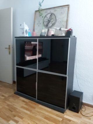 Mueble tv aparador vitrina