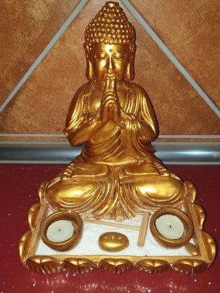 Buda Dorado de escayola