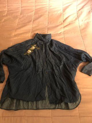 Camisa tejana bordada
