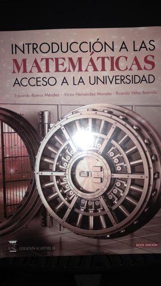 Libros UNED acceso universidad mayores de 25
