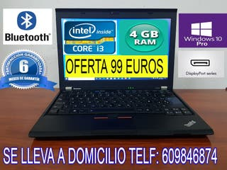 PORTATIL LENOVO INTEL CORE i3 - 4 GB RAM GARANTIA