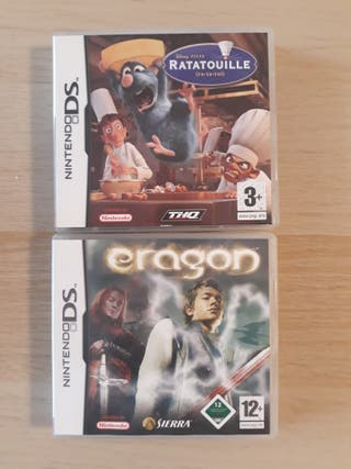lote 2 juegos nintendo DS