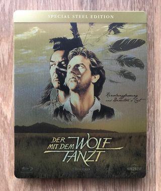 Bailando con lobos Blu Ray Steelbook Castellano