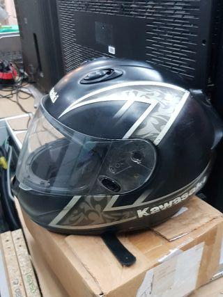 casco Kawasaki talla M