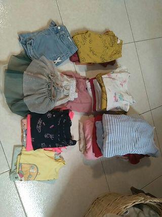 pack ropa niña 3años