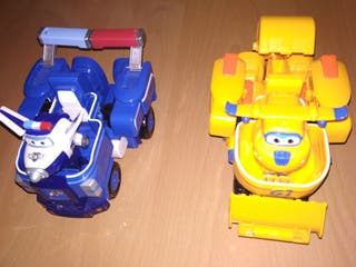 Super Wings Vehículos/Transformers