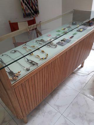 mostrador para tienda vintage