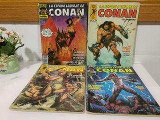 Lote de cómics la espada salvaje de Conan
